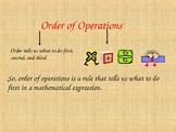 Order Of Operations   PEMDAS Powerpoint