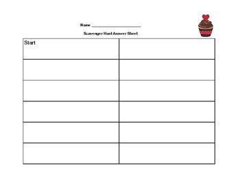Order Of Operations-Simplify the Expression Scavenger Hunt-Print and Go