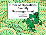 Order Of Operations-Simplify the Expression Scavenger -St.