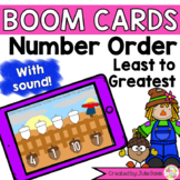 Order Sequence Numbers Least to Greatest Digital Game Boom