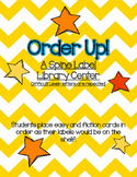 Order Up! A Library Shelf Order Game- Hard Level