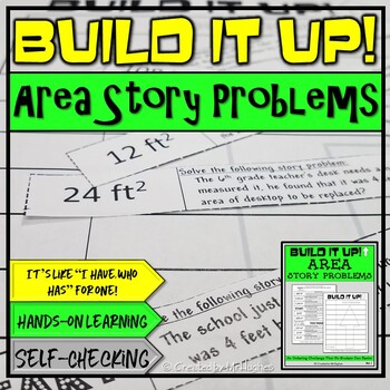 Area Story Problems - Order Up!