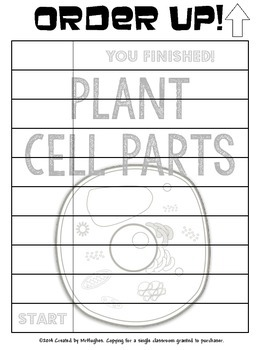 Cell Parts {Plant} Set #1 - Order Up!