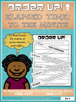Elapsed Time To The Minute - Order Up! Set #2