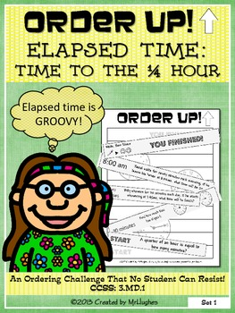 Elapsed Time to the 1/4 Hour - Order Up! Set #3