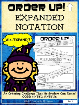Expanded Notation - Order Up!