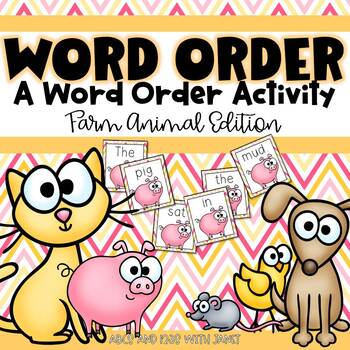 Order Up! Farm edition (Word Order Activity)