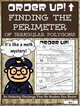 Finding the Perimeter of Irregular Polygons - Order Up!