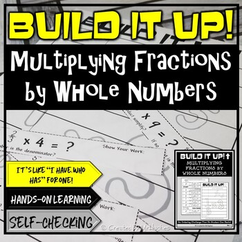 Multiplying Fractions by Whole Numbers - Order Up!