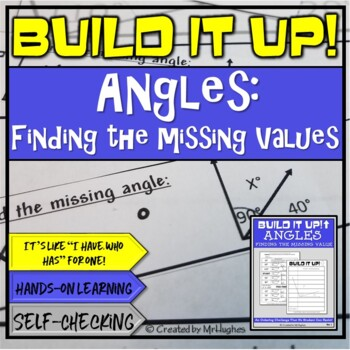 Missing Values of Angles - Geometry Order Up!