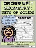 Nets of Solids - Order Up!