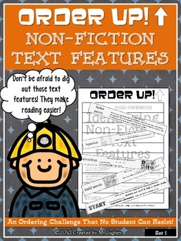 Non-Fiction Text Features - Order Up!