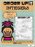 Integers - Order Up!