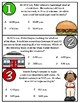 Order Up!  Intervals of Time at the Diner (TEKS 4.8C)