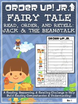 Jack and the Beanstalk - Order Up! Jr. Read, Order, and Retell