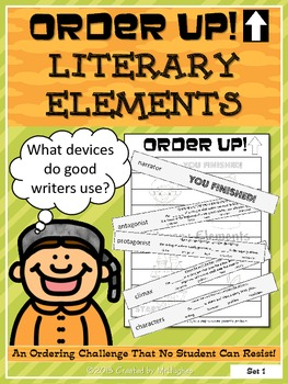 Literary Elements - Order Up!