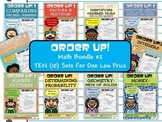 Math Bundle #2 Order Up! (10 Sets)