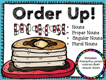 Order Up! *Nouns*