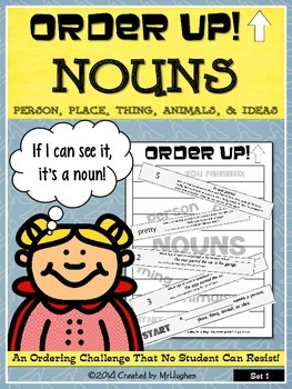 Nouns - Order Up!