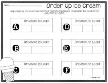 Order Up Numbers to 120