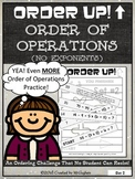 Order of Operations Set 2 {No Exponents} - Order Up!