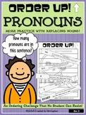 Pronouns - Order Up! Set #2