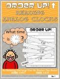 Reading Analog Clocks - Order Up!