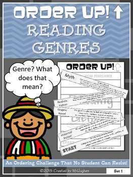 Reading Genres - Order Up!