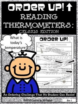 Reading Thermometers : Celsius Edition - Order Up!  (Set 1)