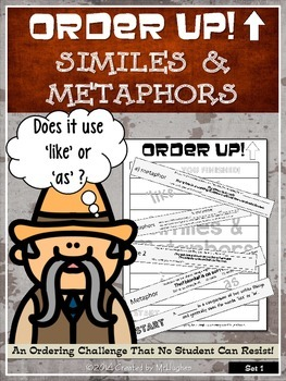 Similes and Metaphors - Order Up!