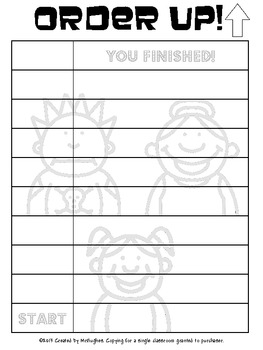 Pronouns - Order Up! Set #1