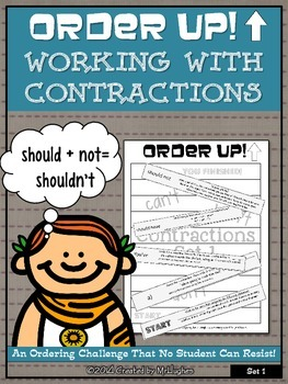 Contractions - Order Up! Set 1