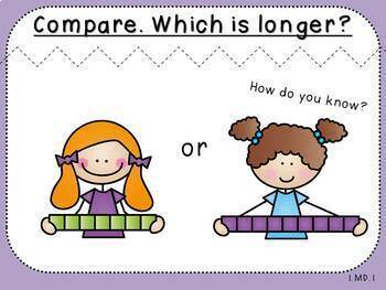 Order and Compare-Measurement Pack 1 (First Grade, 1.MD.1)