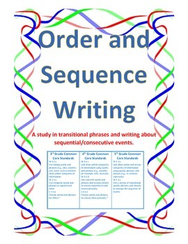 Order and Sequence Writing