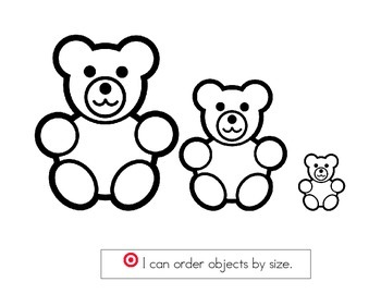 Order bears by size