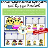 Order by Size Digital Drag and Drop Game - Boom Digital Slides