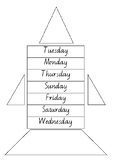 Order days of the week to build rocket