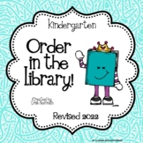Order in the Library!  Kindergarten Library Skills