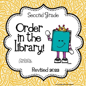 Order in the Library!  Second Grade Library Skills