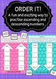 Ascending and Descending Order Game (GRADES K to 5)