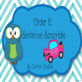 Order it! Sentence Scramble Practice