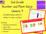 Order numbers lesson pack (2nd Grade Number and Place Value)