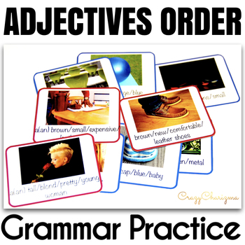 Ordering Adjectives Cards