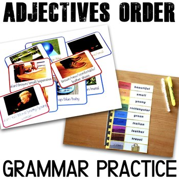 Ordering Adjectives {Bundle}
