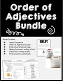 Order of Adjectives Bundle