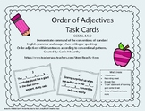 Order of Adjectives Task Cards
