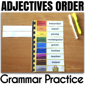 Ordering Adjectives Spiral