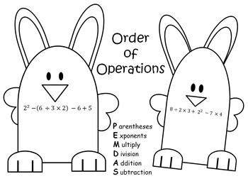 Order of Operation Bunnies