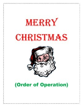 Order of Operation ( Christmas )