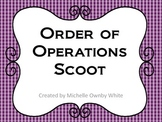 Order of Operation Errors Scoot